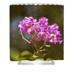 Shower Curtain featuring the photograph The Last Of Summer by Joan Bertucci