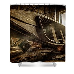 The Last Port Shower Curtain by Everet Regal