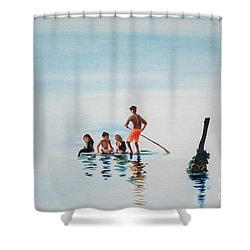 The Last Post Shower Curtain