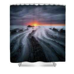 The Last Sigh Shower Curtain