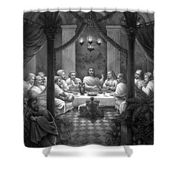 The Last Supper Shower Curtain by War Is Hell Store