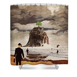 The Last Tree Shower Curtain