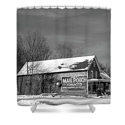 The Layton Country Store Shower Curtain by Nicki McManus