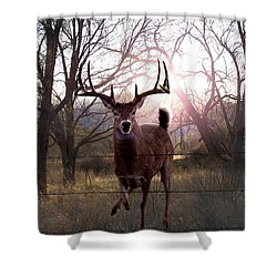 The Leap Shower Curtain