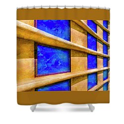 The Ledge Shower Curtain by Paul Wear