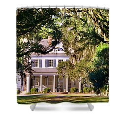 The Legare-waring House At Charles Town Landing Shower Curtain