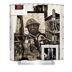 The Legend Of Riggo Maddix Shower Curtain