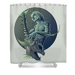 The Legend Of Zelda Majoras Mask Shower Curtain