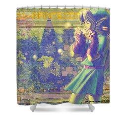 The Legend Of Zelda Ocarina Time Shower Curtain