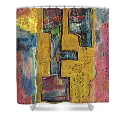 The Letter F Shower Curtain