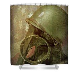 Shower Curtain featuring the photograph The Lieutenant by Tom Mc Nemar