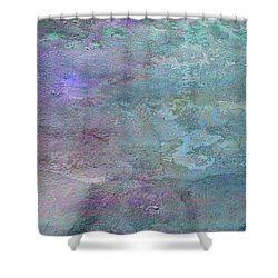 The Light At The End Of The Universe Shower Curtain by Sarah Vernon