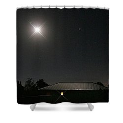 The Light Has Come Shower Curtain