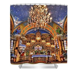 The Light Within Shower Curtain by Evelina Kremsdorf
