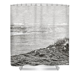 The Lighthouse Shower Curtain by Everet Regal