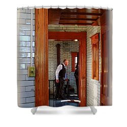 The Lighthouse Keeper Shower Curtain