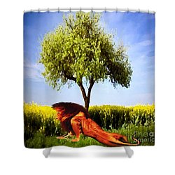 The Lion, The King Shower Curtain