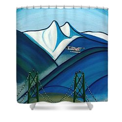 The Lions Shower Curtain