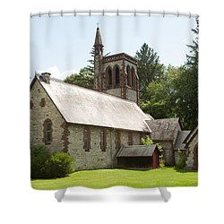 The Little Brown Church In The Vale Shower Curtain