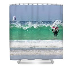 Shower Curtain featuring the photograph The Little Mermaid by Terri Waters