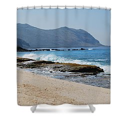 The Local's Beach Shower Curtain