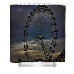 The London Eye Shower Curtain by Martin Newman