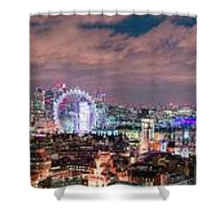 The London Skyline Shower Curtain