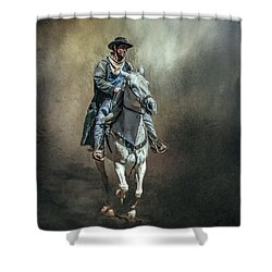 The Lone Drifter Shower Curtain