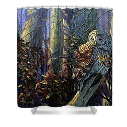 The Lone Hunter Shower Curtain
