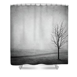 The Lonely Path Shower Curtain