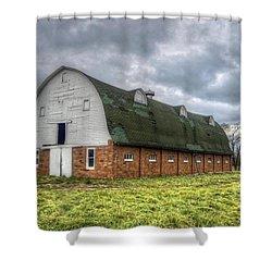 The Long Barn Shower Curtain