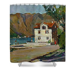 The Long Hot Day. Sold Shower Curtain