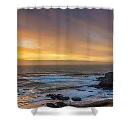 The Long View Shower Curtain by James Heckt