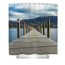 The Long Walk Shower Curtain