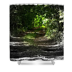 The Long Walk Shower Curtain