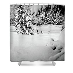 The Long Walk- Shower Curtain