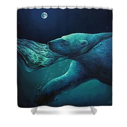 The Longest Night Shower Curtain
