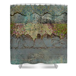 The Lords Table Shower Curtain
