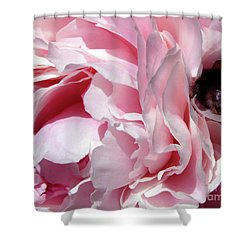 The Lost Bee 2 Shower Curtain