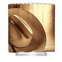 The Lost Hat Shower Curtain
