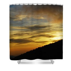 The Loud Music Of The Sky Shower Curtain