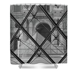 The Louvre From The Inside Shower Curtain