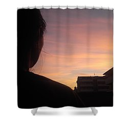 Roxana The Love Of My Life Shower Curtain