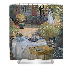 The Luncheon Shower Curtain