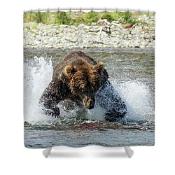 The Lunge Shower Curtain