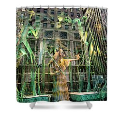 Shower Curtain featuring the photograph The Lure Of The Wild by Alex Lapidus