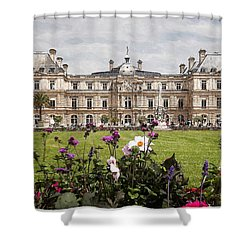 The Luxembourg Palace Shower Curtain