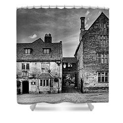 The Lygon Arms, Broadway Shower Curtain by John Edwards