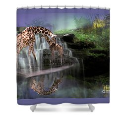The Magical Bond Shower Curtain