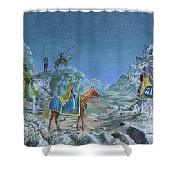 The Magi Shower Curtain